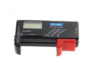 Portable Digital Battery Checker Volt Tester for AA AAA C D 9V 1.5V Button Cell Battery BT-168D