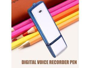 USB 8GB 2in1 Mini USB Spy Digital Pen Audio Voice Recorder Flash Drive with Recording 150 hrs