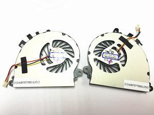 QUETTERLEE Replacement Fan for MSI GS72 GS72 6QD GS72 6QE GS72 Stealth Pro GS70 2OD GS70 2PE GS70 2QE GS70 ONC GS70 MS-1771 MS-1773 Series CPU+GPU A Pair Cooling Fan PAAD06015SL N184 N197 Fan