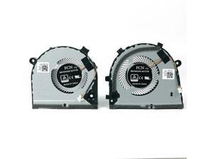 New 4 wire Laptop CPU GPU cooling Fan for Dell G3 3579 G3-3579 3779 G5 5587 G5-5587  fan cooler FKB7 OJWMFV  DC28000KVF0 DFS551205ML0T TP  FKB6 OTJHF2 DC28000KUF0 DFS481105F20T EP a pair