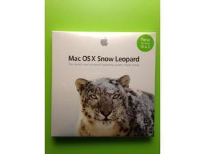 New Apple Mac OS X 10 6 3 Snow Leopard DVD install SEALED - Newegg com