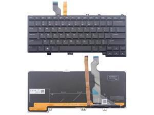 Laptop Backlit Keyboard for Dell PK1316C1A00 NSK-LB1BC 01 0P30HM P30HM US Layout Black Color