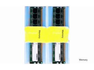 New 4GB Kit Lot 2x 2GB PC2-4200 4200 DDR2 DDR-2 533mhz 533 240-pin NON-ECC Desktop Memory RAM