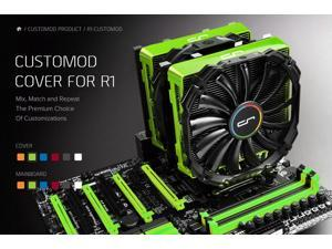CRYORIG CUSTOMOD Cover for R1 - Green