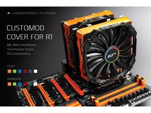 CRYORIG CUSTOMOD Cover for R1 - Orange
