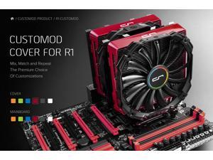 CRYORIG CUSTOMOD Cover for R1 - Red