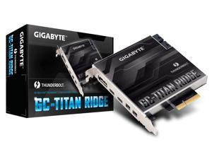Gigabyte GC-TITAN RIDGE (rev. 1.0) Thunderbolt 3 PCIe Expansion Card USB Type-C Fit Z390/H370/B360-series