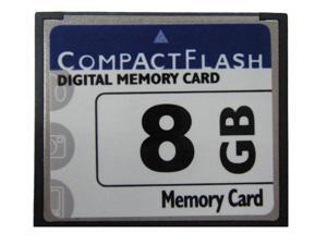 Lots-5 pcs CompactFlash CF Memory Card 8G 8 GB Camera Memory card 8gb 133X