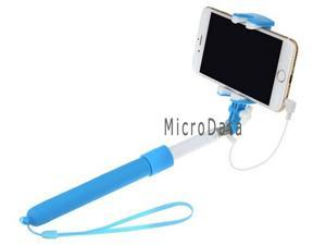 Newest Cable Shutter Selfi Stick Button Smartphone Selfie Monopod with Mirror for iphone 6 5 6 plus Android iOS