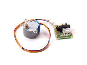 For Arduino Robot Project - Stepper Motor 28BYJ-48 5V DC 4-Phase 5-Wire with ULN2003 Driver Board