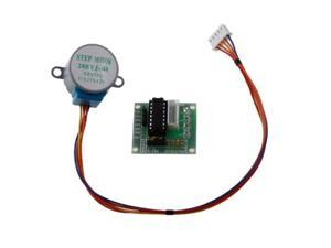 For Arduino Robot Project - Stepper Motor 28BYJ-48 12V DC 4-Phase 5-Wire with ULN2003 Driver Board