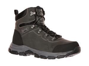 Magnum Mens Austin Mid Waterproof Steel Toe Charcoal Work Boots 5550 7.5