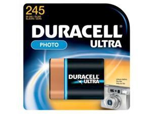 DURACELL DL245 Battery,Size 245,Lithium,6V