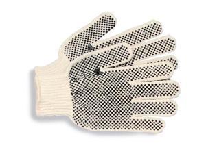 Boardwalk Pvc-dotted String Knit Gloves, Large, Dozen BWK792