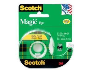 Scotch-brite Scotch Magic Tape with Handheld Dispenser MMM119