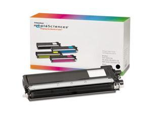 Media Sciences 39855 Black Compatible, Remanufactured, TN210BK, Toner, 2200 Page-Yield