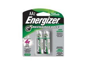 Energizer Rechargeable Batteries, AA Size, 2 Per Pack