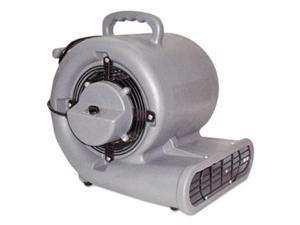 Mercury Floor Machines 1150 Eagle Air Mover, 3-Speed, 1/2hp, 1150rpm, 1500cfm
