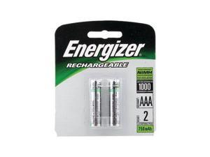 Energizer Rechargeable Batteries, AAA Size, 2 Per Pack