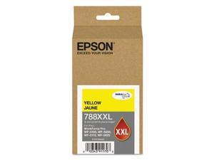 Epson DURABrite Ultra Ink 788XXL Ink Cartridge - Yellow - Inkjet - Extra High Yield - 4000 Page
