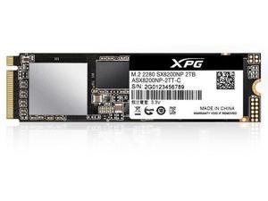 XPG SX8200 Pro Series: 2TB PCIe Gen3x4 M.2 2280 Solid State Drive