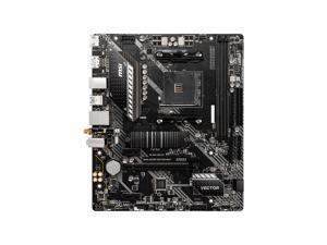 MSI MAG Vector AMD A520 AM4 Micro ATX DDR4-SDRAM Motherboard