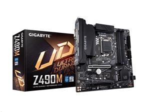 Gigabyte Intel Z490M LGA 1200 Micro ATX DDR4-SDRAM Motherboard