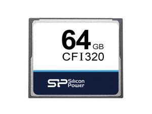 64GB Silicon Power CFI320 Industrial CompactFlash Memory Card 0-70u2103 MLC