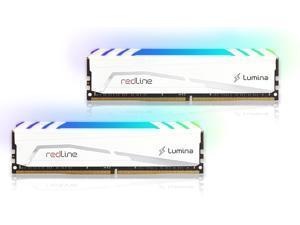 32GB Mushkin Redline Lumina RGB DDR4 3600MHz PC4-28800 CL18 Dual Channel Kit - White