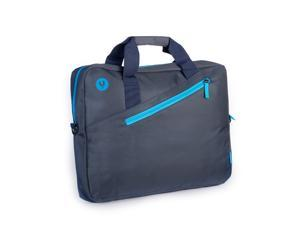 "NGS Ginger Blue - 15.6"" Laptop bag with external pocket - Blue"