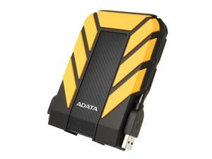 ADATA Durable Series HD710: 2TB Yellow External USB 3.1 Portable Hard Drive Gaming Console Compatible