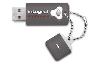 64GB Integral Crypto Drive FIPS 197 Encrypted USB3.0 Flash Drive (AES 256-bit Hardware Encryption)