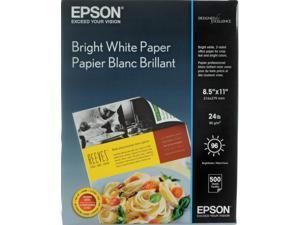 Epson BRIGHT WHITE PREMIUM PAPER, LETTER