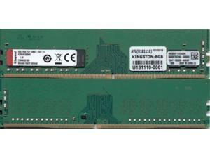 Kingston 8GB 288-Pin DDR4 SDRAM ECC Unbuffered DDR4 2400 (PC4 19200) Server Memory Model KSM24ES8/8ME