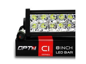 OPT7 C1 Series 8  Off-Road LED Light Bar w/ Power Harness and  sc 1 st  Newegg.com & OPT7 Automotive u0026 Industrial - Newegg.com