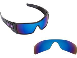 48e51b66e1 Batwolf Replacement Lenses Blue Mirror by SEEK fits OAKLEY Sunglasses