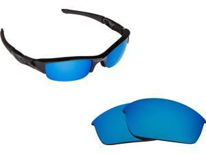 cec2dc8b79 FLAK JACKET Replacement Lenses Polarized Blue by SEEK fits OAKLEY Sunglasses