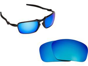 86133b0ce0 BADMAN Replacement Lenses Polarized Blue Mirror by SEEK fits OAKLEY  Sunglasses