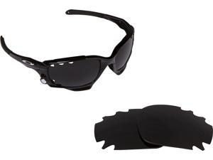 f8dddb0755 VENTED RACING JACKET Replacement Lenses Black by SEEK fits OAKLEY Sunglasses