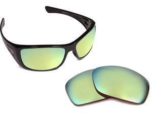 9876b9e6b9 HIJINX Replacement Lenses Polarized Green Mirror by SEEK fits OAKLEY  Sunglasses