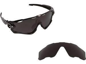 JAWBREAKER Replacement Lenses Polarized Black by SEEK fits OAKLEY Sunglasses