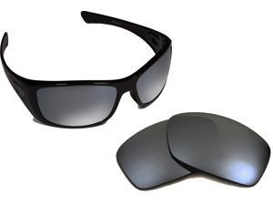3eb58f7d312 Hijinx Replacement Lenses Polarized Black Iridium by SEEK fits OAKLEY  Sunglasses