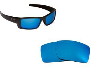 d05bd9f73768 Gascan S Replacement Lenses Polarized Blue Mirror by SEEK fits OAKLEY  Sunglasses