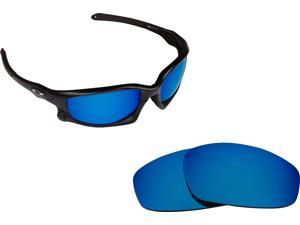 54017cfc88 WIND JACKET Replacement Lenses Polarized Blue by SEEK fits OAKLEY Sunglasses