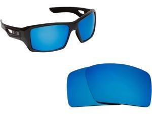 2f5ce071c1e Eyepatch 2 Replacement Lenses Polarized Blue by SEEK fits OAKLEY Sunglasses