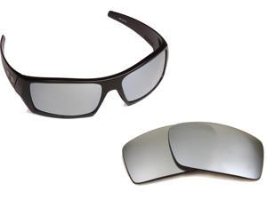 4067c36516e GASCAN Replacement Lenses Silver Mirror by SEEK fits OAKLEY Sunglasses
