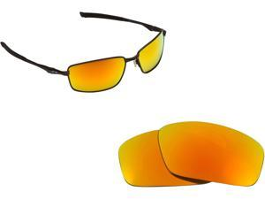 19c2ace11df7 Splinter Replacement Lenses Polarized Red Mirror by SEEK fits OAKLEY  Sunglasses