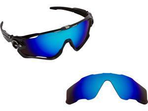 55e453f3bf6d JAWBREAKER Replacement Lenses Blue Mirror by SEEK fits OAKLEY Sunglasses