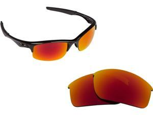9fa77d6cd7 BOTTLE ROCKET Replacement Lenses Red Mirror by SEEK fits OAKLEY Sunglasses