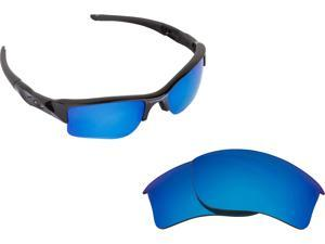 9f855ce779 Flak Jacket XLJ Replacement Lenses Polarized Blue by SEEK fits OAKLEY  Sunglasses